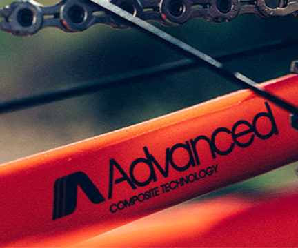 Giant bike Advanced Composite Technology frame close-up
