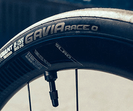 Giant Defy Advanced tubeless tire system