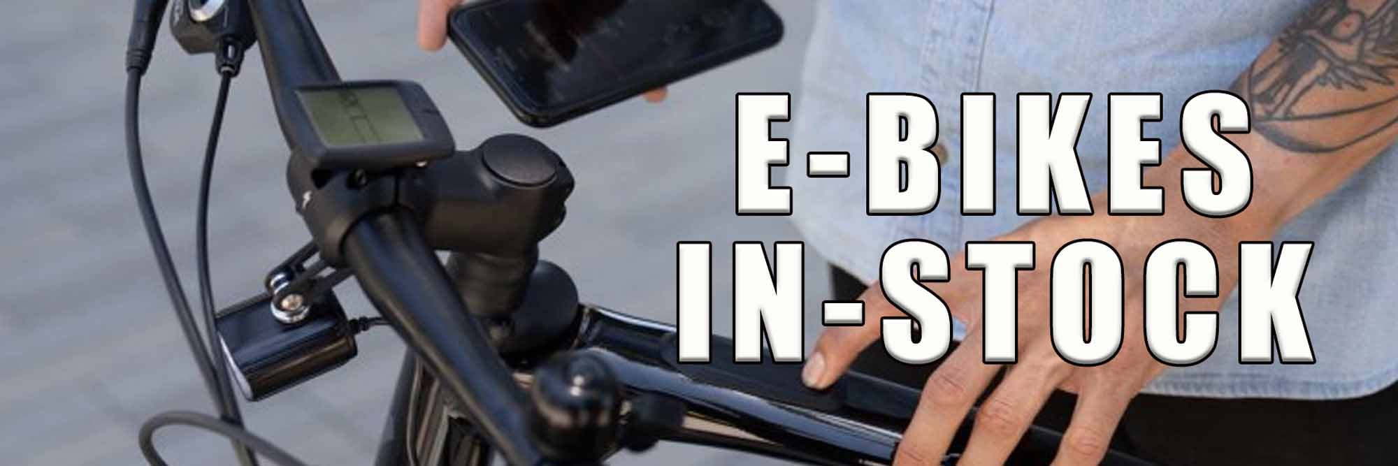 Electric Bikes - Come See if an E-Bike is right for You