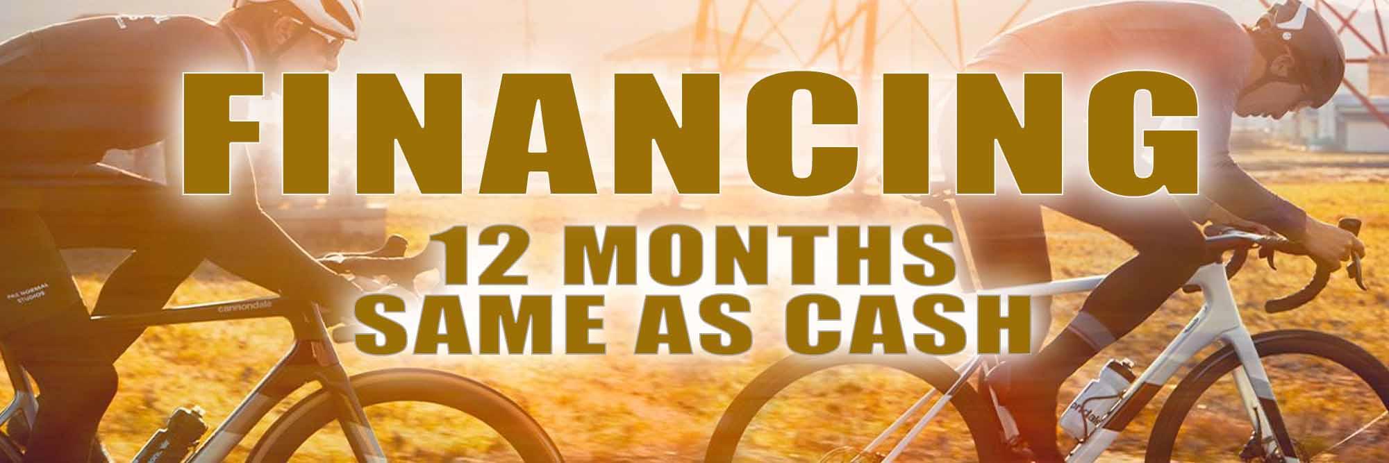 Finance - 12 Months Same as Cash