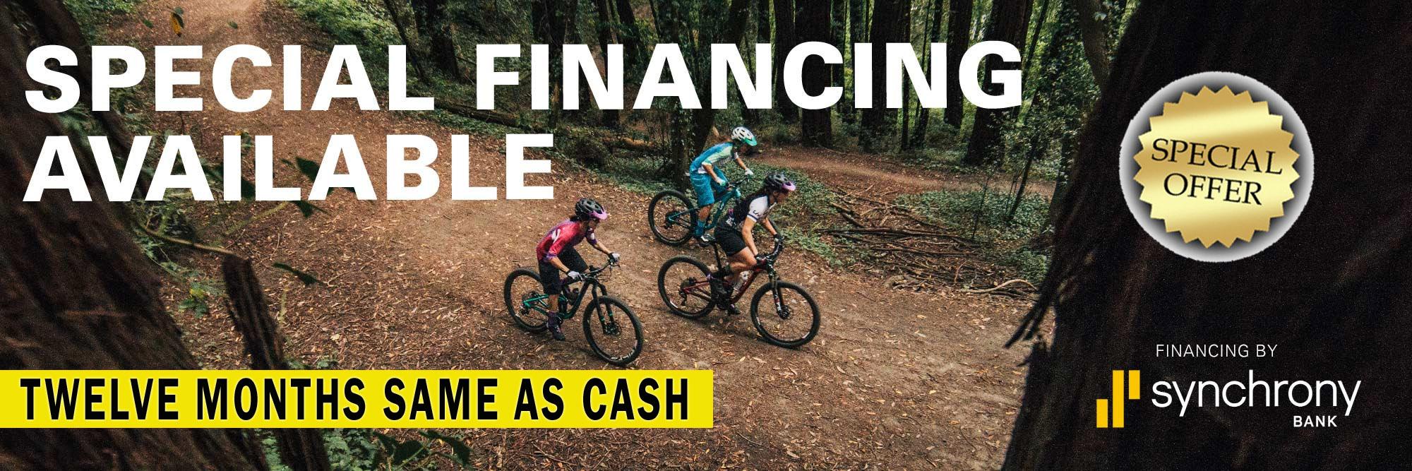 Financing - 12 Months Same as Cash