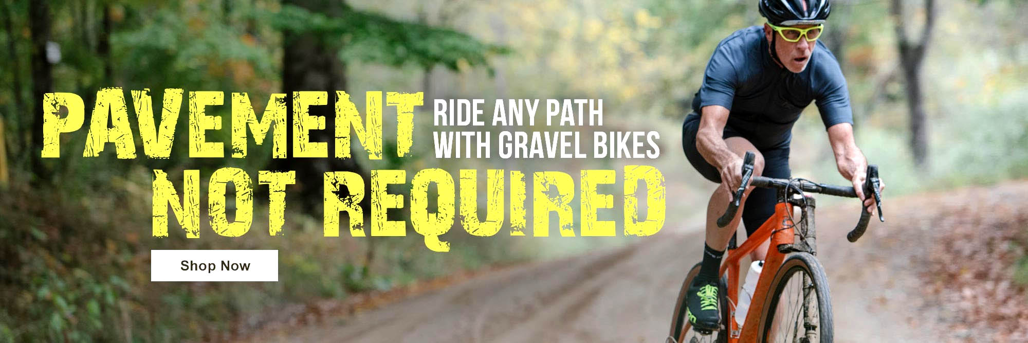 Gravel Adventure Bikes - Perfect for Fall