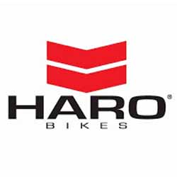 Haro Bicycle Red and Black Logo