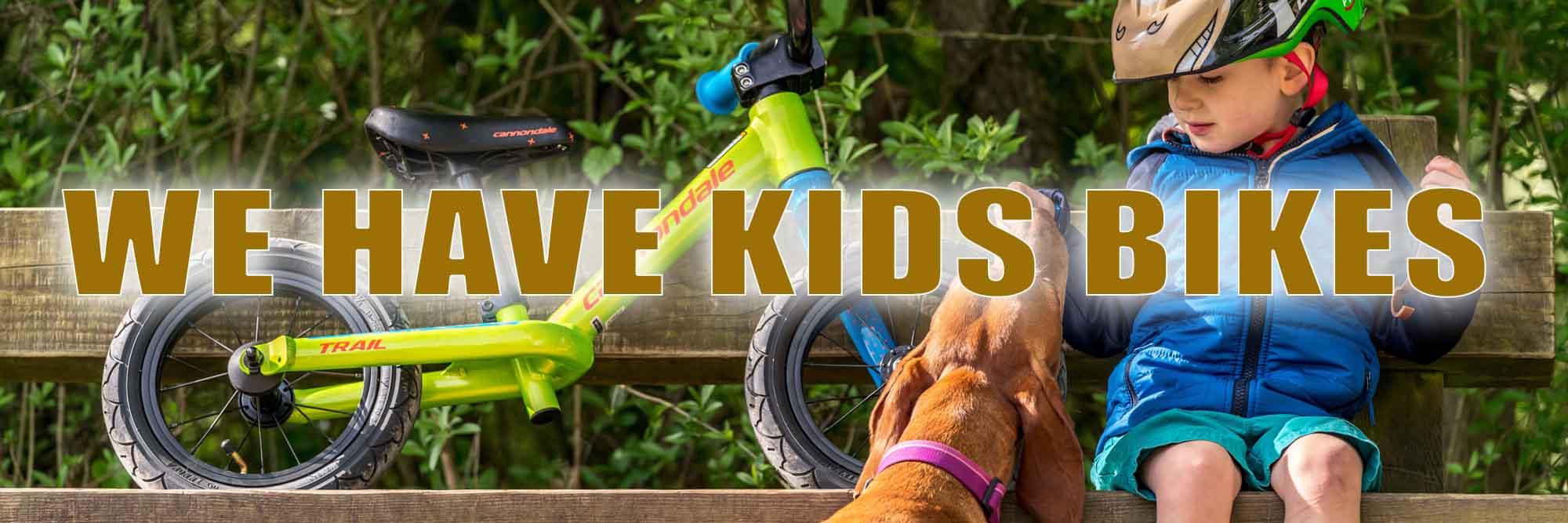 Kids Bikes In-Stock