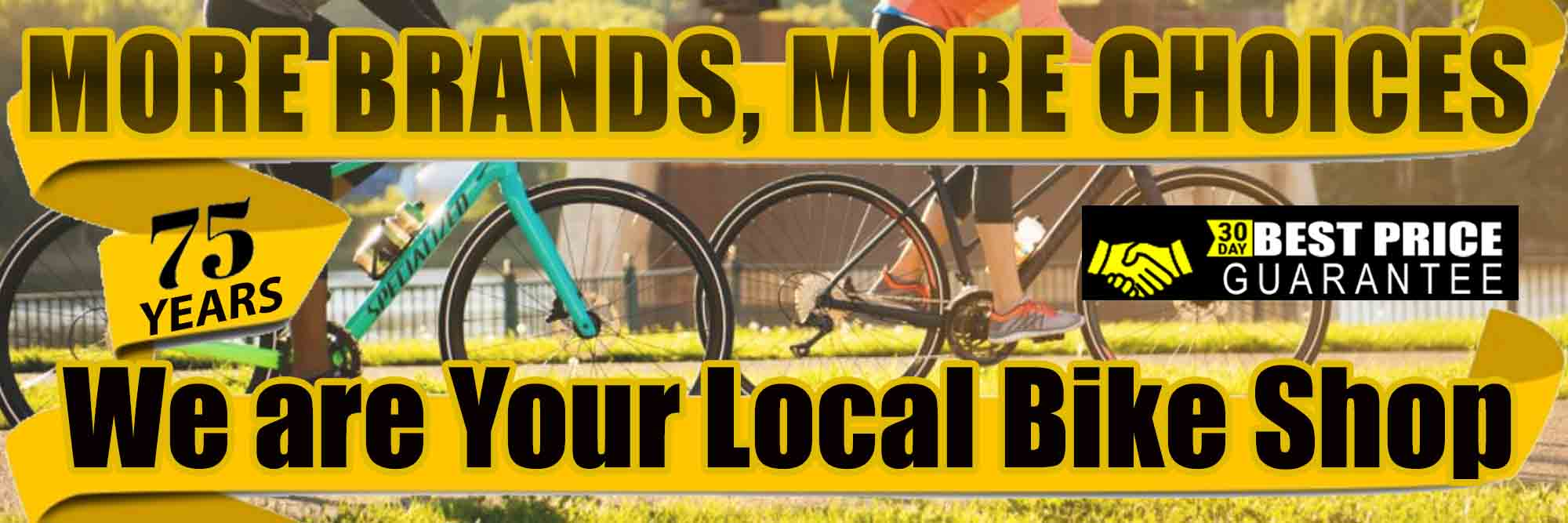 Kozy's Cyclery - More Brands, More Choices