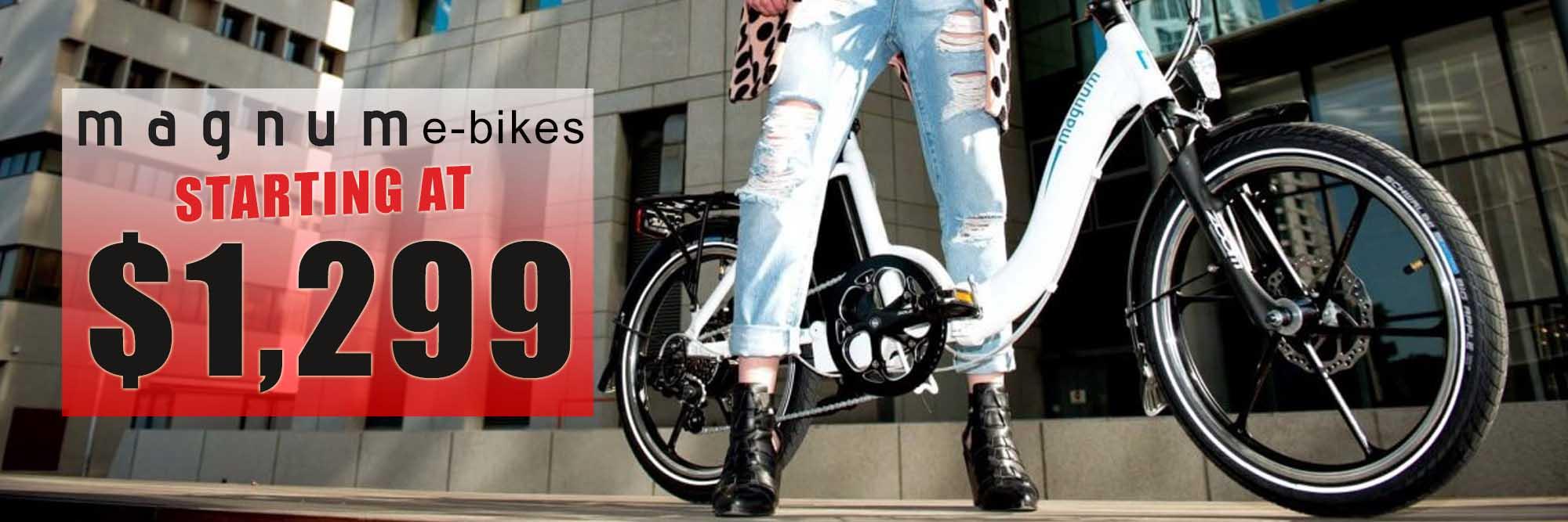 Magnum Electric Bikes - Starting at $1,299.99