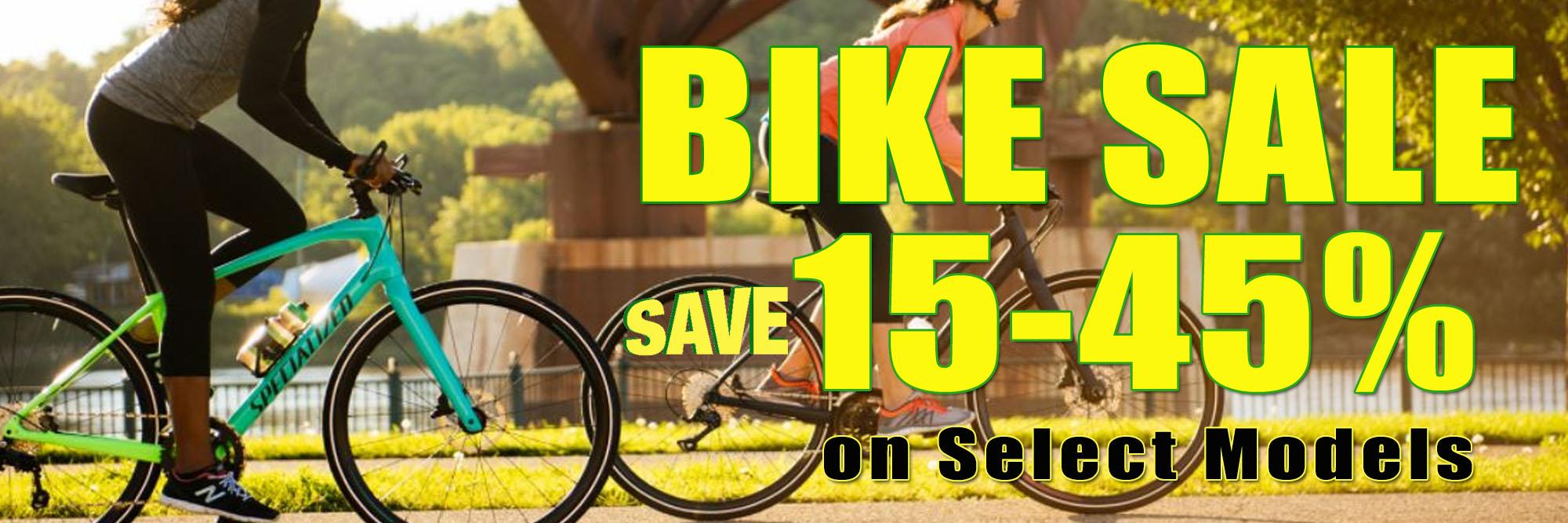 Bike Sale - Save 15-45%