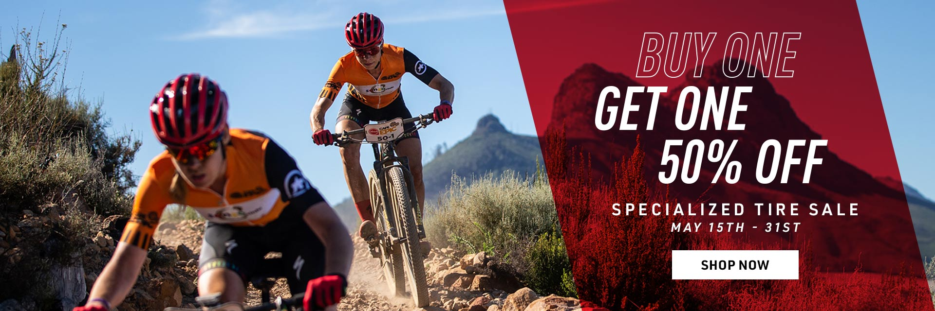 Specialized Tire Sale