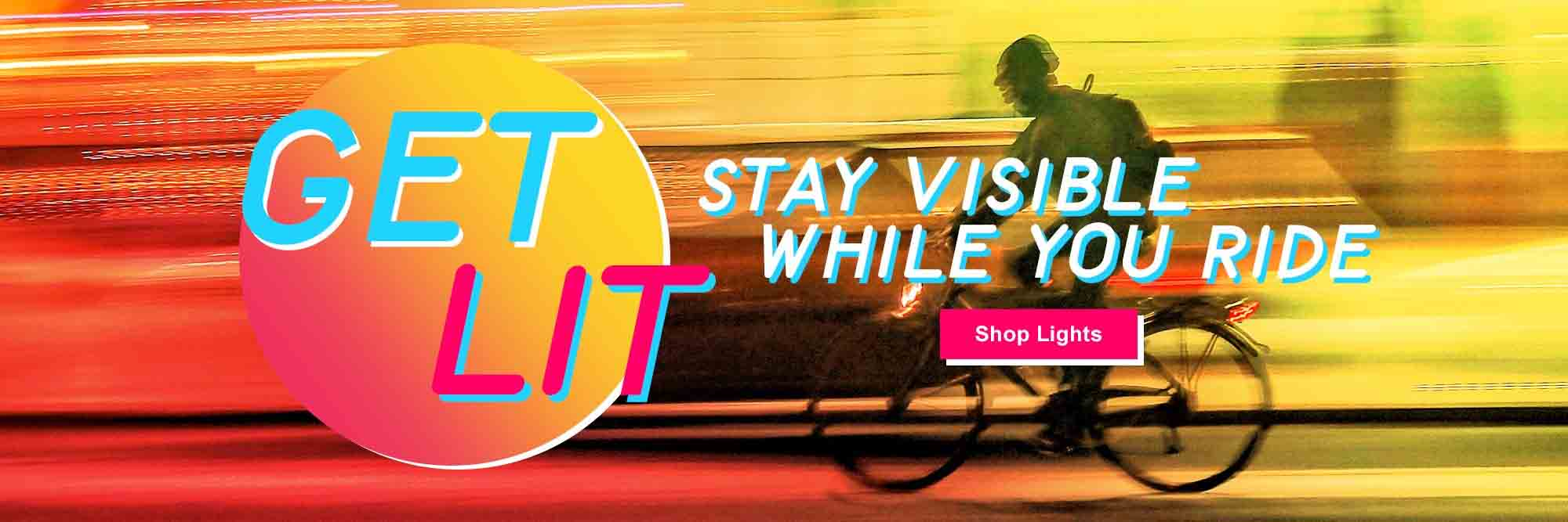 Be Seen with Bike Lights