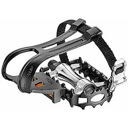 Giant Domain Pedals with Toe Clips & Straps