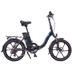 Magnum Electric Bikes Premium Low-Step Electric Folding Bike