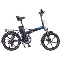 Magnum Electric Bikes Premium High-Step Electric Folding Bike