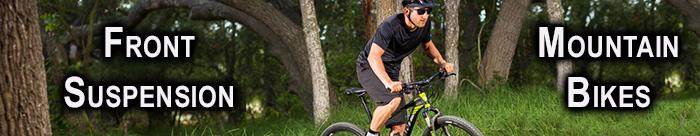 Mountain bikes - front suspension mtb