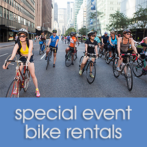 Bicycle Habitat Five Borough Bike Tour Rental - Hybrid Bike Sunday May 5th
