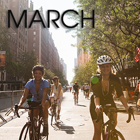 Bicycle Habitat Rentals For: March