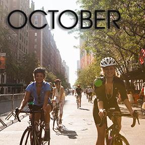 Bicycle Habitat Rentals for October
