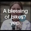 a blessing of bikes