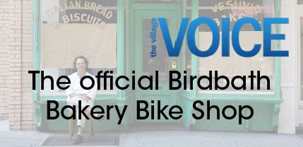 the official birth of a bakery bike shop