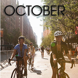Bicycle Habitat Rentals for October