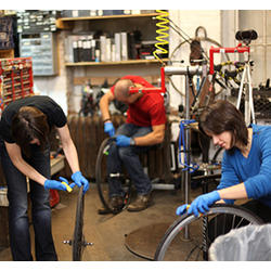 Bicycle Habitat 6-Week Intensive Repair Class
