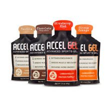 Accelerade Accel Gel in different Flavors
