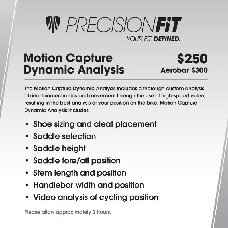 Motion Capture Dynamic Analysis Menu