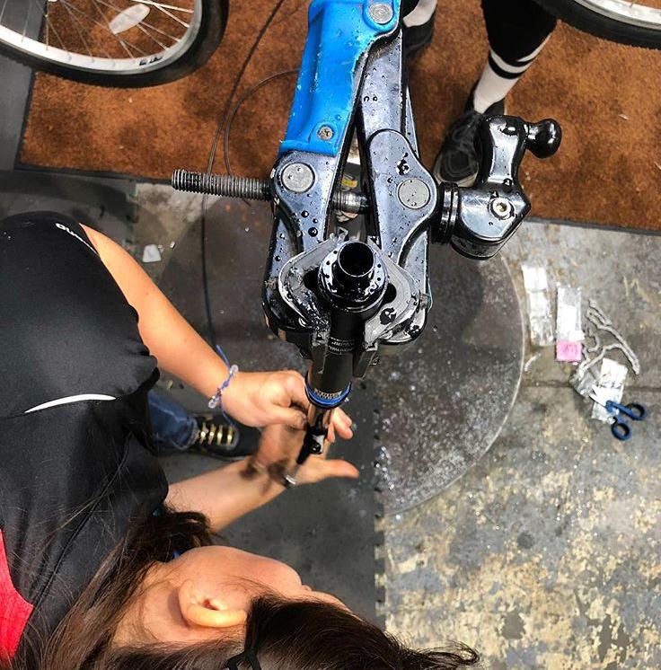 Mountain Bike Suspension Service
