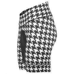 Shebeest Petunia Houndstooth Short