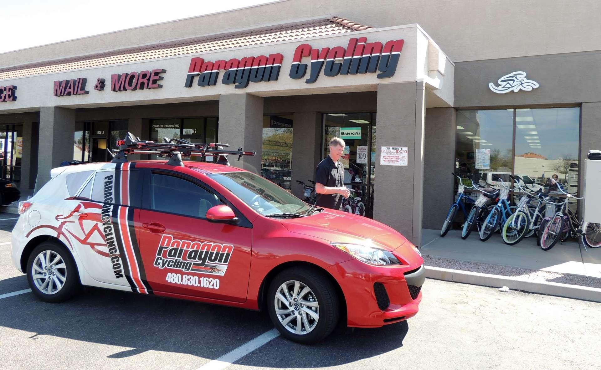 Paragon Cycling, Mesa, AZ store front