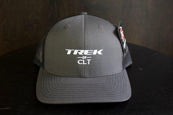 Trek of CLT Custom Hat Charcoal / Black