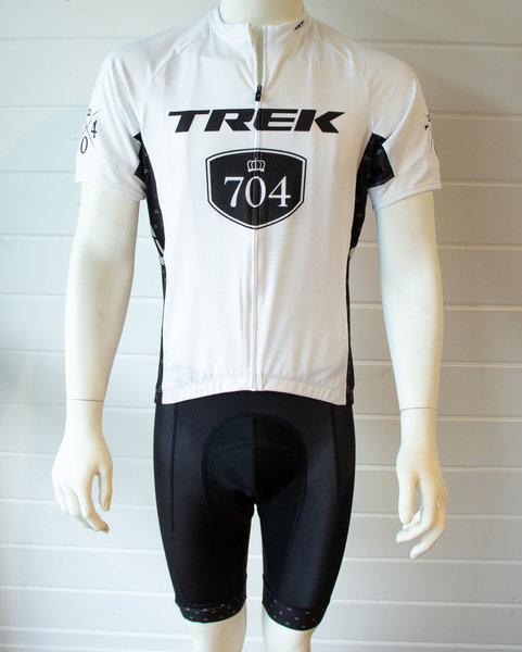 Trek of CLT Men's Custom Bontrager Jersey - White