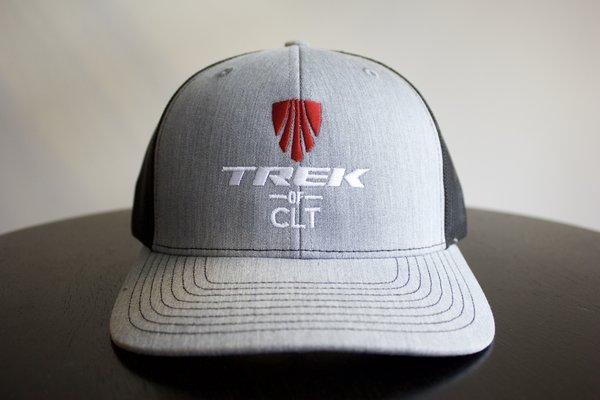 Trek of CLT Custom Hat Heather Gray/Black