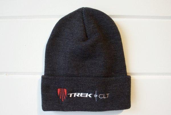 Trek of CLT Custom Knit Hat Black