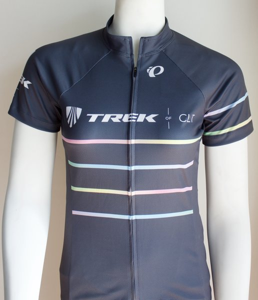 Trek of CLT Womens Custom Select Jersey Grey With Prism