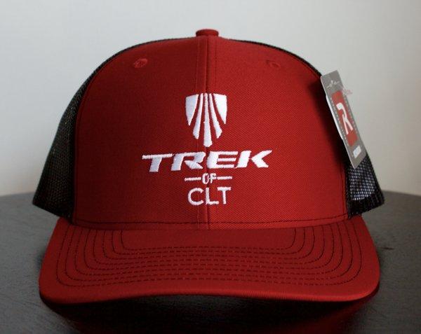 Trek of CLT Custom Hat Red / Black