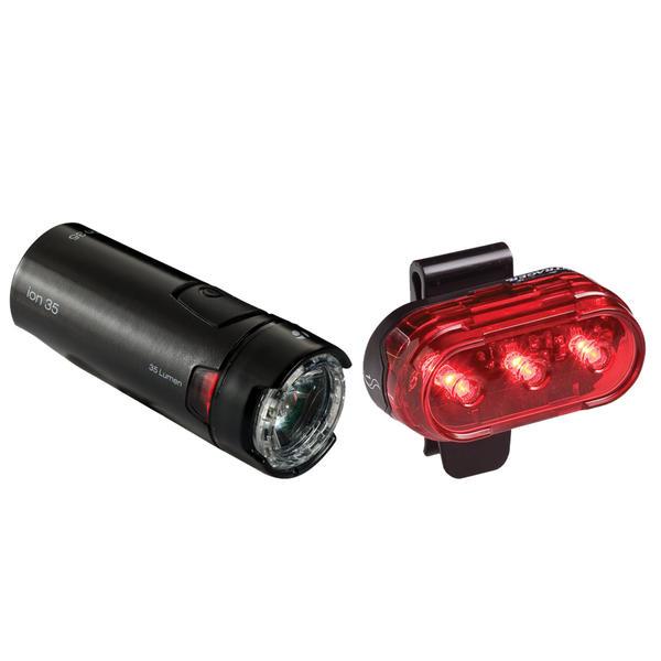 Bontrager Bontrager Ion 35/Flare 1 Light Set