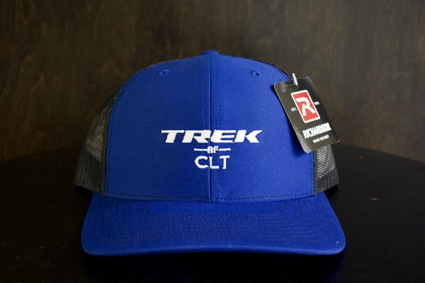 Trek of CLT Custom Hat Royal / Black