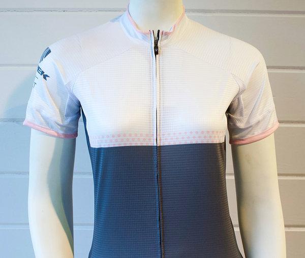 Trek of CLT Women's Custom Bontrager Jersey - White/Grey