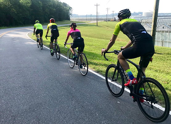 Trek + Carolina Multisport Saturday Group Ride Series