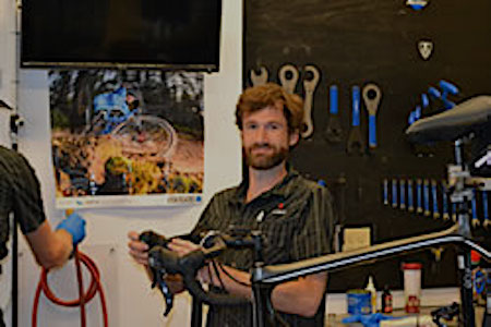 Trek Bicycle store of Charlotte, NC Service Tech Colin