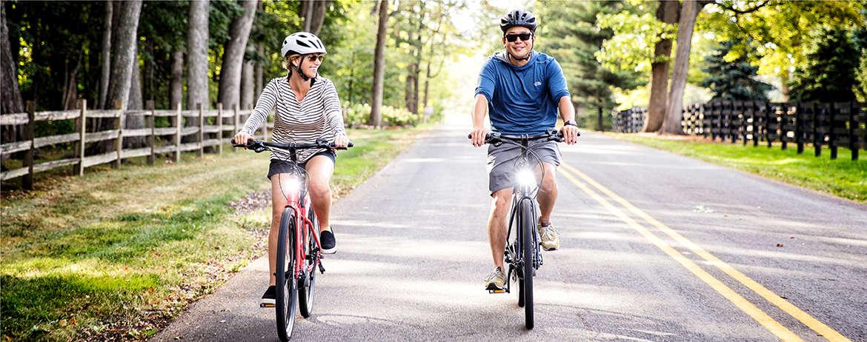 Test ride an electric bike