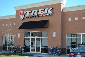 Trek Bicycle Store of Charlotte South Store Front