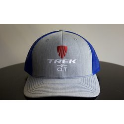 Trek of CLT Custom Hat Royal/Heather Gray