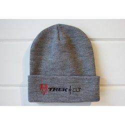 Trek of CLT Custom Knit Hat Grey