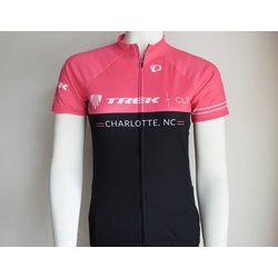 Trek of CLT Womens Custom Select Jersey Pink Viz and Black