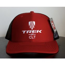 Trek of CLT Custom Hat Red / Black