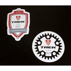Trek of CLT Store Sticker