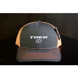 Trek of CLT Custom Hat Charcoal / Orange Sherbet