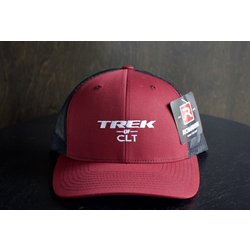 Trek of CLT Custom Hat Cardinal / Black