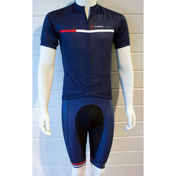 Trek of CLT Men's Custom Bontrager LTD Bib Short - Navy